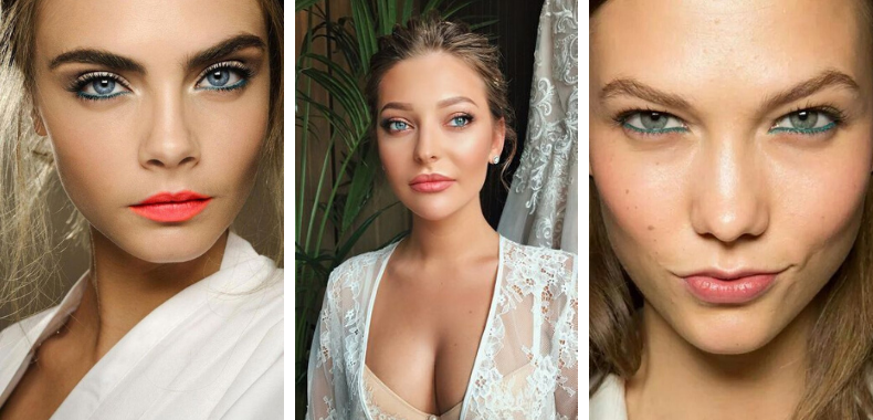 tutorial maquillaje rubia ojos azules