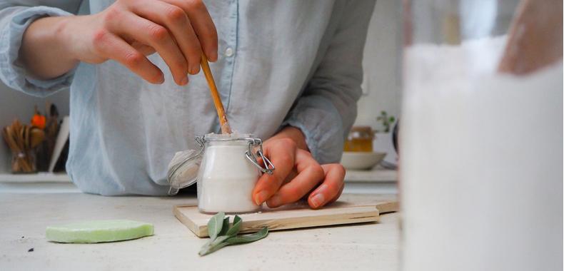 desodorante casero bicarbonato