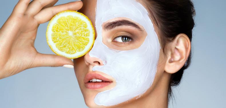 mascarilla facial limon