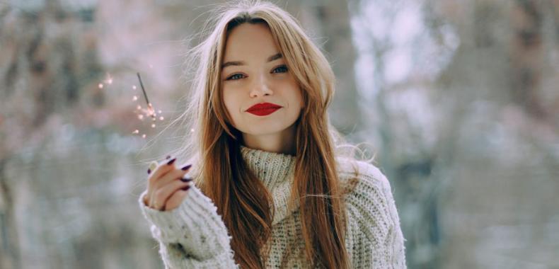 idea maquillaje navidad