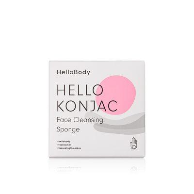 Esponja facial limpiadora - Hello Konjac