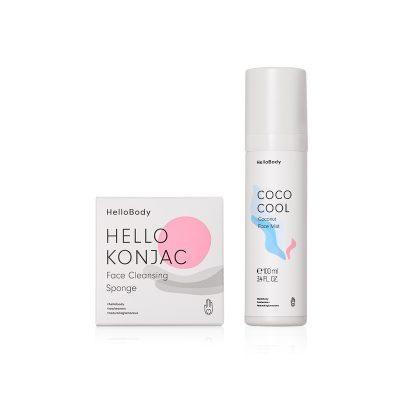 Spray Facial y  Esponja Limpiadora