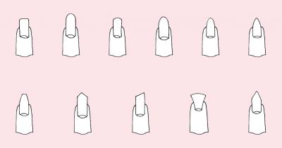 Uñas de tendencia: ¡Mejora tus manos con la forma correcta!