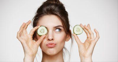 Pepino en los ojos: ¿realmente funciona? Aquí están todos los beneficios
